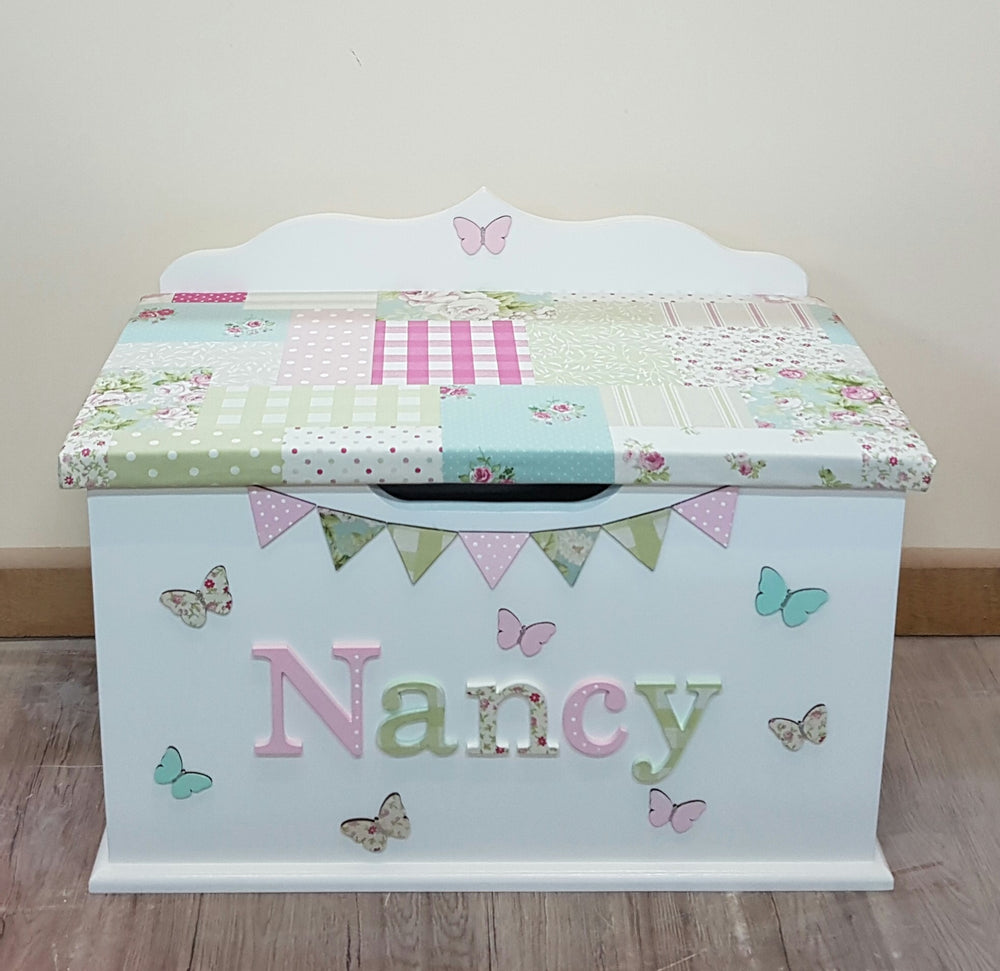 Handmade toy box from UK