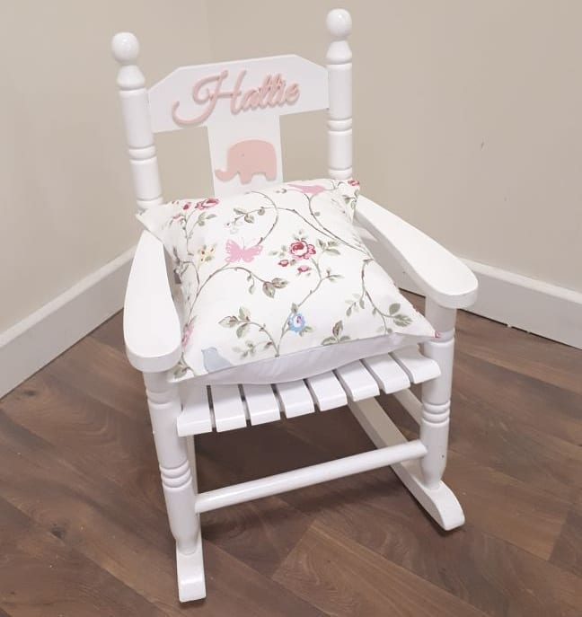Handmade Kids Rocking Chair