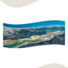 Load image into Gallery viewer, Australian Coastline Large Scarf