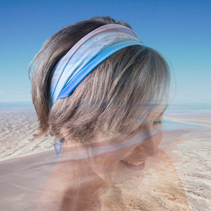 Lake Eyre Edge - Small Scarf