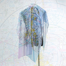 Load image into Gallery viewer, Brisbane Aviation Chart - Large Scarf