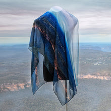 Load image into Gallery viewer, Blue Mountains - Large Scarf