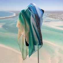 Load image into Gallery viewer, Sand &  Sea - Large Scarf