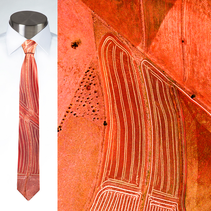 Aerial Art Together - Necktie