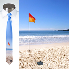 Load image into Gallery viewer, Aussie Beach Flag - Necktie