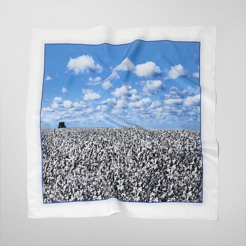 Cotton And Clouds - Scarf