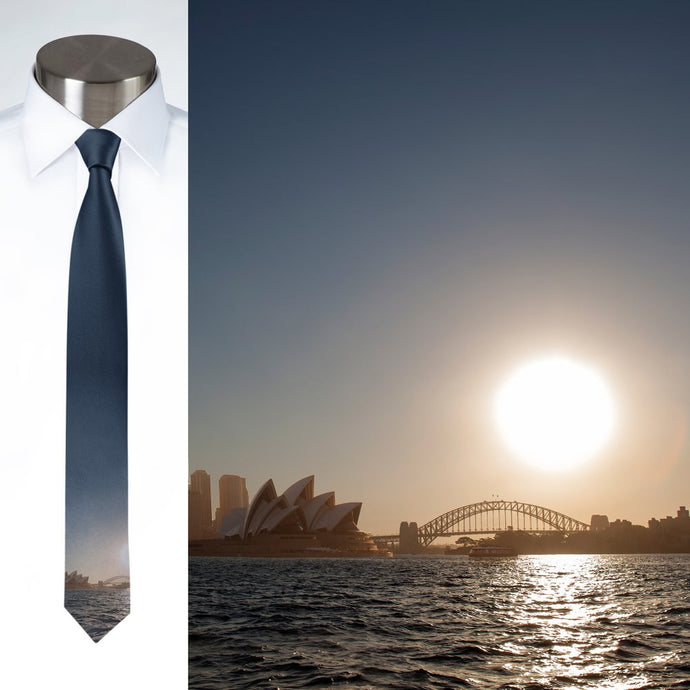 Opera House Sunset - Necktie