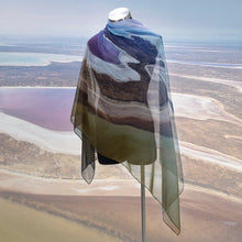 Load image into Gallery viewer, Lake Eyre Kati Thanda Chiffon Scarf