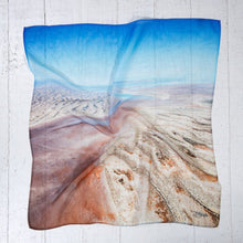 Load image into Gallery viewer, Lake Eyre Edge - Small Scarf