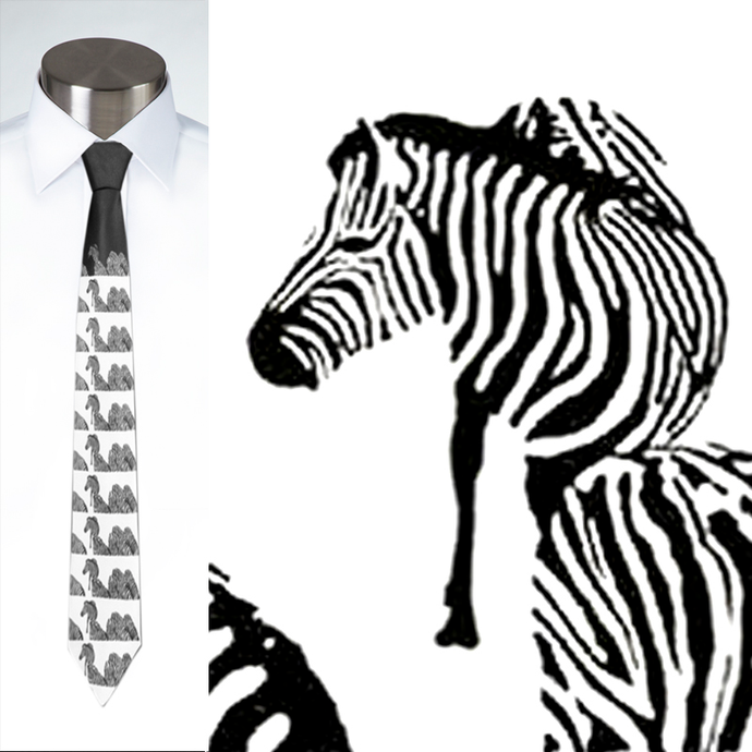 Zebras Crossing - Necktie