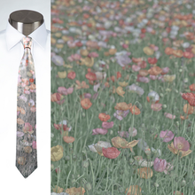 Load image into Gallery viewer, Poppies - Necktie