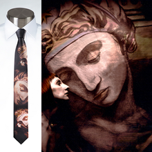 Load image into Gallery viewer, Statute Faced - Necktie