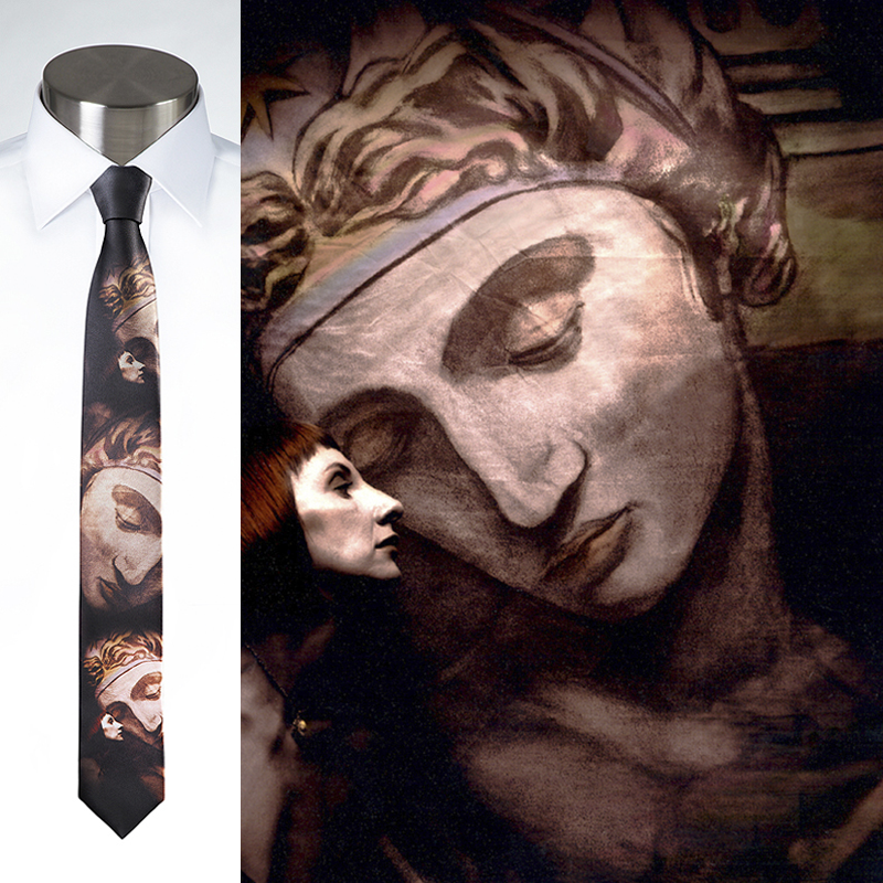 Statute Faced - Necktie