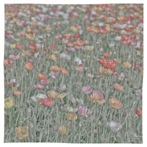 Poppies Party - Pocket Square / Kerchief