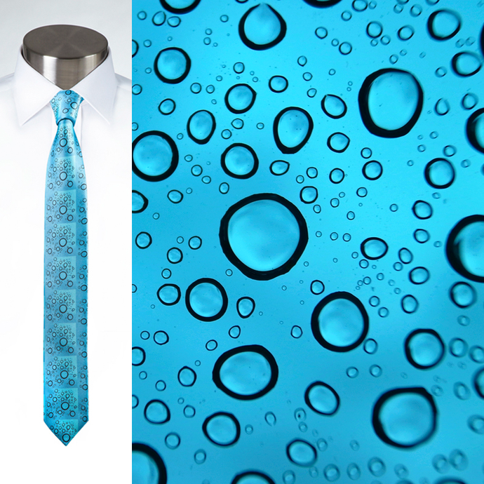 Water On Windscreen - Necktie