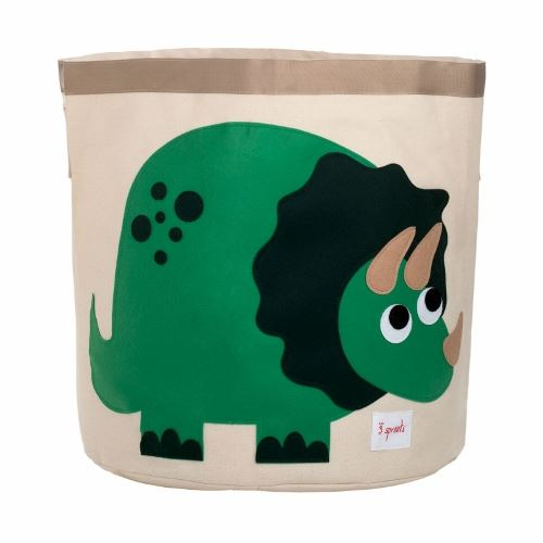 3 Sprouts Dino Green Storage Bin