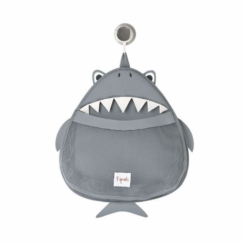 3 Sprouts Shark Bath Storage