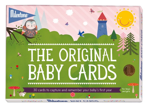 The Original Baby Cards by Milestone