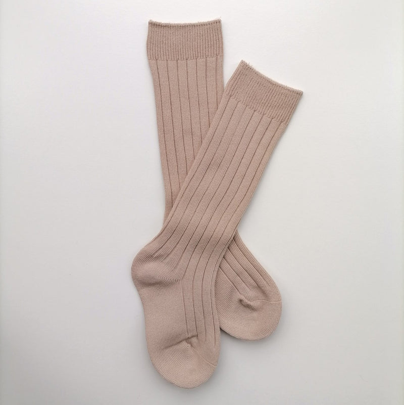 Wheat Knee High Socks - Farmyard the Label