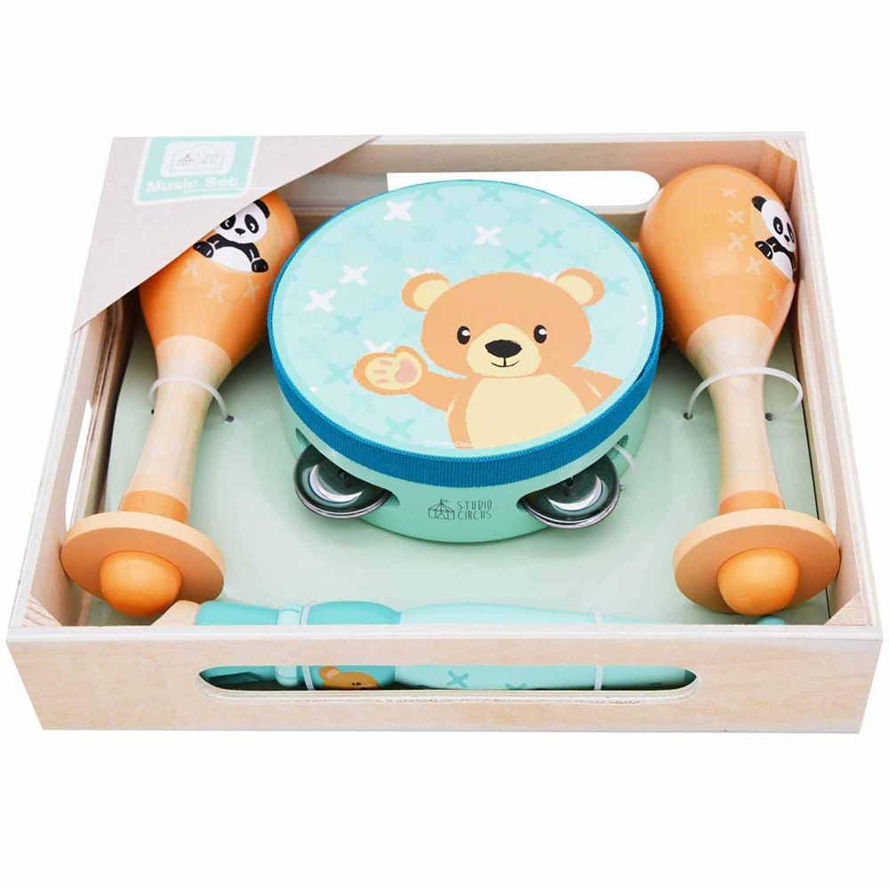Studio Circus Bear Band-in-a-Box
