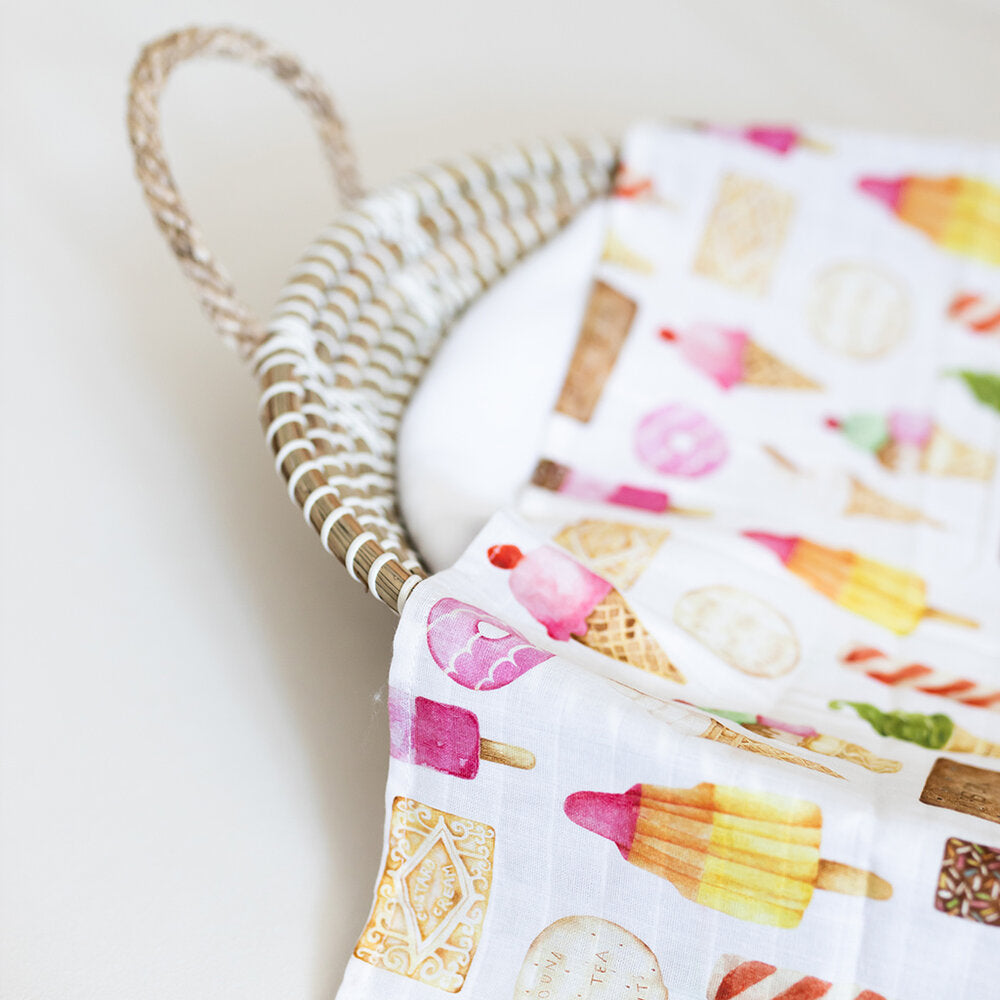 Sweets Swaddle Blanket