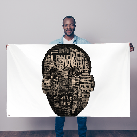 MLK Sublimation Flag