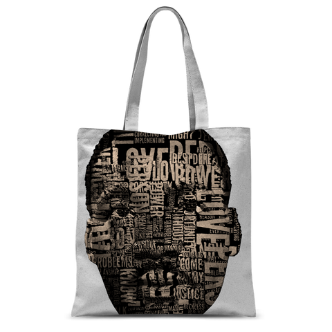 MLK Classic Sublimation Tote Bag