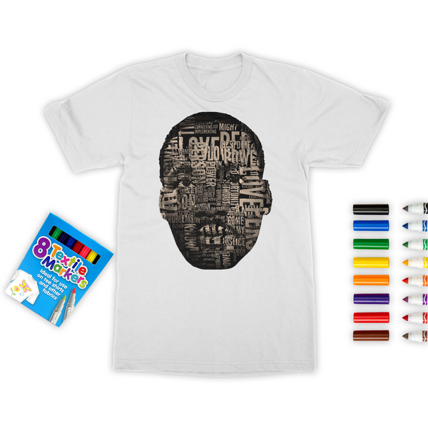 MLK Colouring T-Shirt