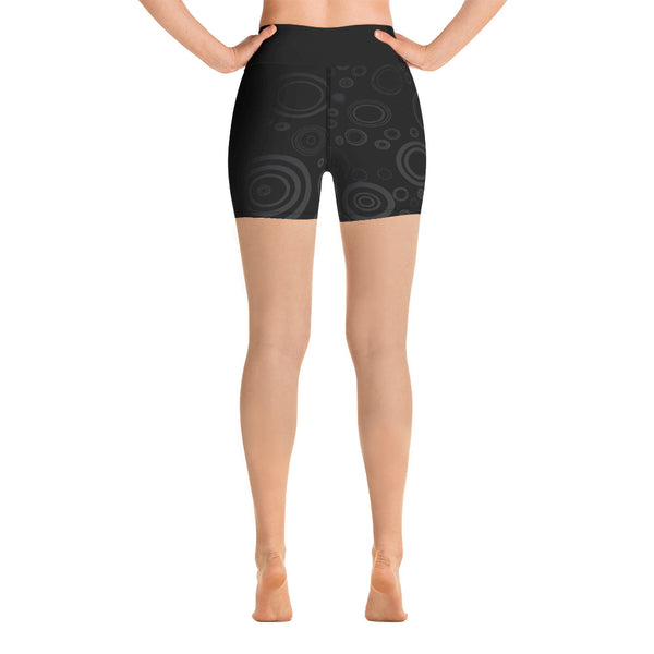 Noir - Yoga Shorts