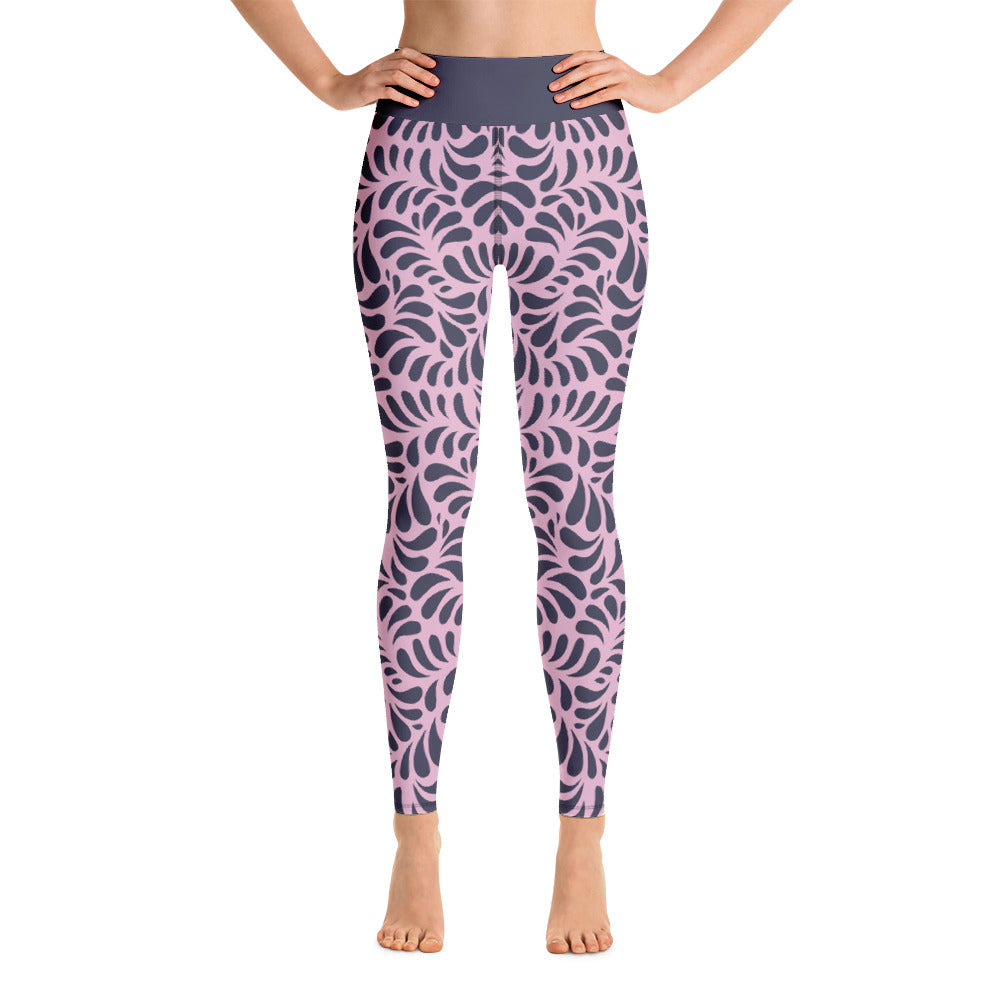 Lilac Eclipse -  Yoga Leggings