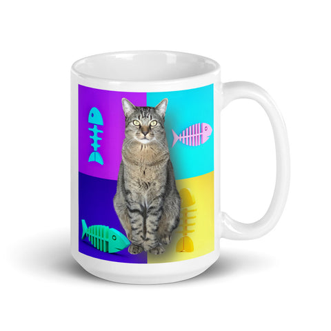 Customized Kitty or Puppy Coffee Mug