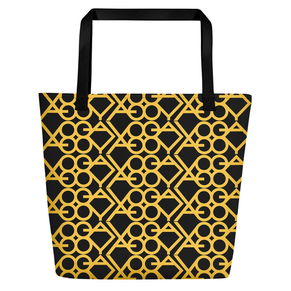 Yoga Gold Tote Bag
