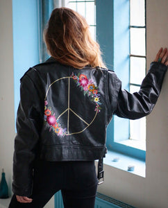 Painted Jacket - (Choice 3 - Medium Design)