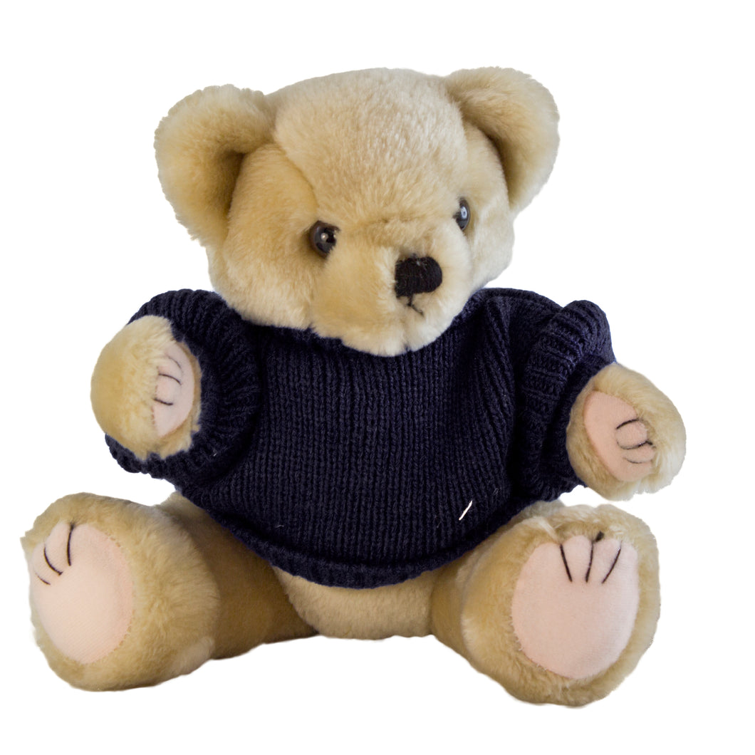 Benjie Bear with Personalised Sweater