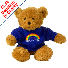 Rainbow Toffee Bear - Thank You