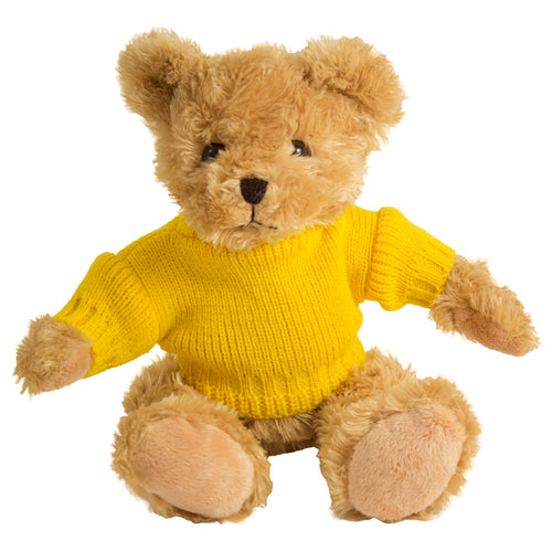 Fudge Bear (Medium) with Personalised Sweater