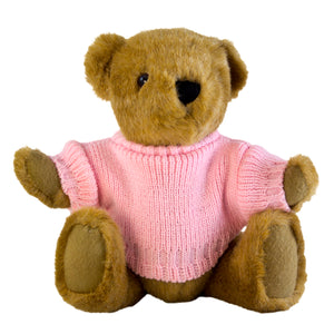Buster Bear with Personalised Sweater
