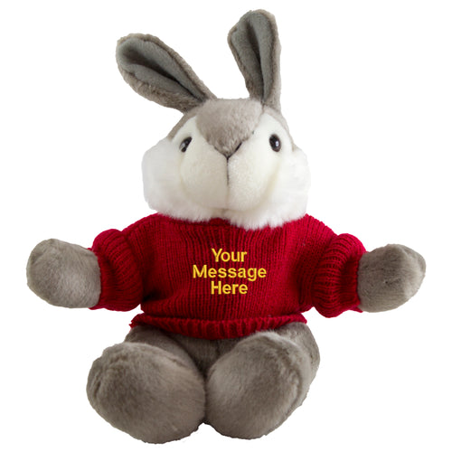Byron Bunny with Personalised Sweater