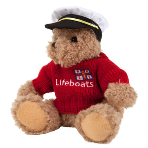 Theo Bear with Captain's Hat Outfit