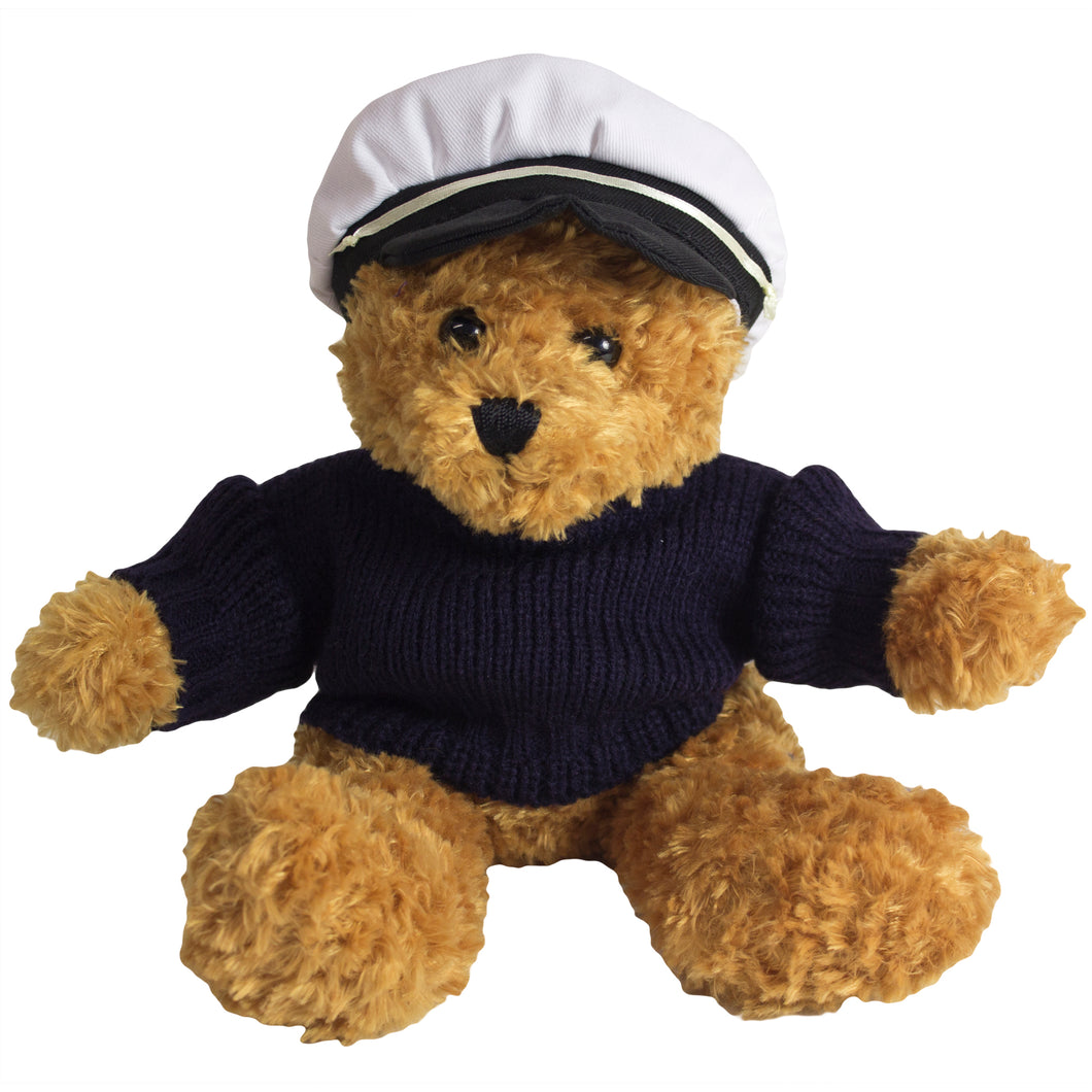 Toffee Bear with Captain's Hat Outfit