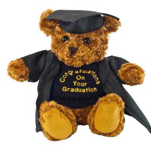Bruno Bear with Graduation Outfit