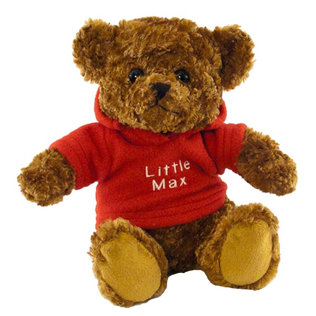 Bruno Bear with Personalised Hoody