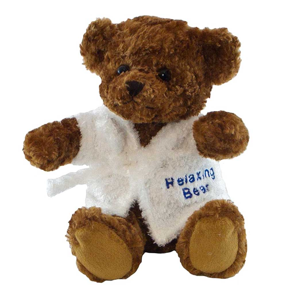 Bruno Bear with Personalised Bathrobe