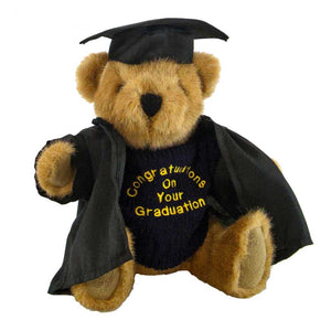 Buster Bear with Graduation Outfit