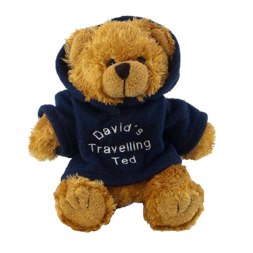 Chubby Bear with Personalised Hoody