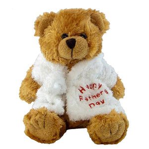 Chubby Bear with Personalised Bathrobe