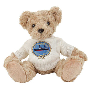 Fudge Bear (Large) with Personalised Bathrobe