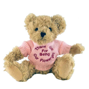 Fudge Bear (Medium) with Personalised Bathrobe