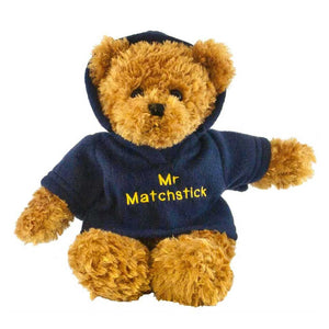Toffee Bear with Personalised Hoody