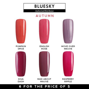 Bluesky Autumn Gel Polish Set
